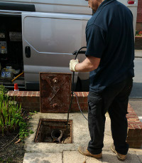 Drain excavation in Gravesend and Northfleet